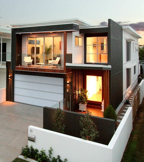 Modern Brisbane Exterior Design Ideas Renovations Photos