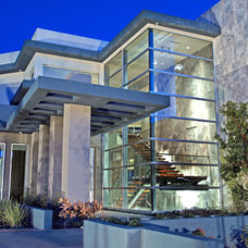 Contemporary Exterior by Richard Luke Architects P.C.