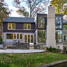 Houzz Tour: Traditional Maryland Home Gets a Modern Makeover