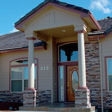 Smooth, Round, Non-Tapered Columns - Our Round, Non-Tapered and Smooth Fibercast columns are a great addition to the exterior of any home.