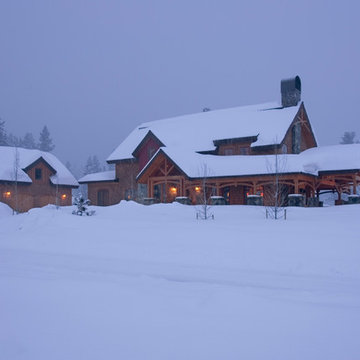 Snow Country Timber Frame