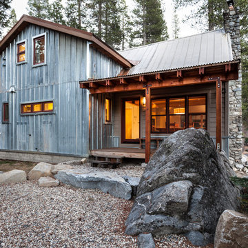 Snow County Cabin Remodel & Addition