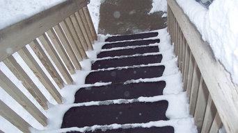 Snow Removal Mats