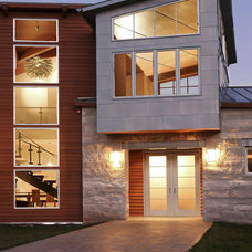 Contemporary Exterior by KGO STONE, The Natural Stone Company