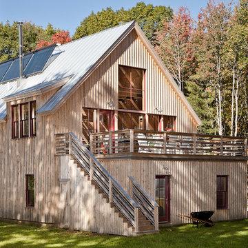 Solar Barn - Exterior Roof Deck