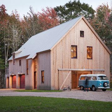 Solar Barn - Maine Barn Home Exterior