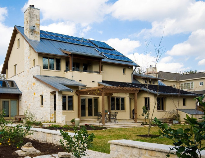 Traditional Exterior by RD Architecture, LLC