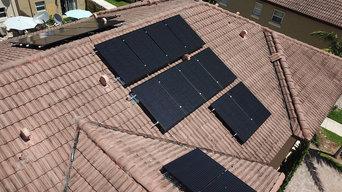Solar instal