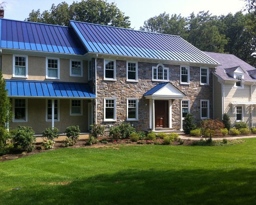 Blue Metal Roof Houzz
