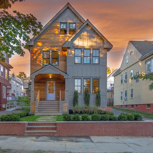 Transitional exterior home photo in Boston