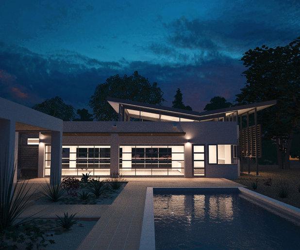 Garage Design Architecture: Automotive-Related Architecture: Modern Garage Doors