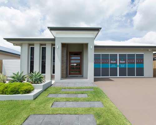 Contemporary townsville exterior home design ideas for Home designs townsville
