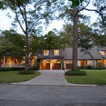 South Louisiana Acadian Style Home
