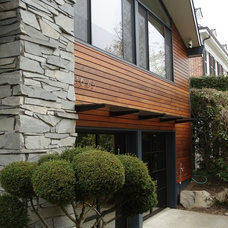 Transitional Exterior by Whitney Architecture
