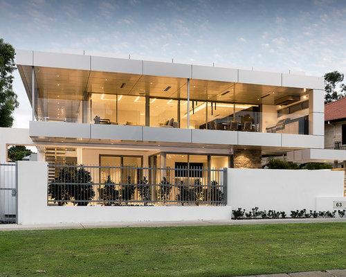 Modern Exterior Design Ideas, Renovations & Photos