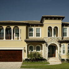 EXTERIOR Front Elevations and Color Schemes