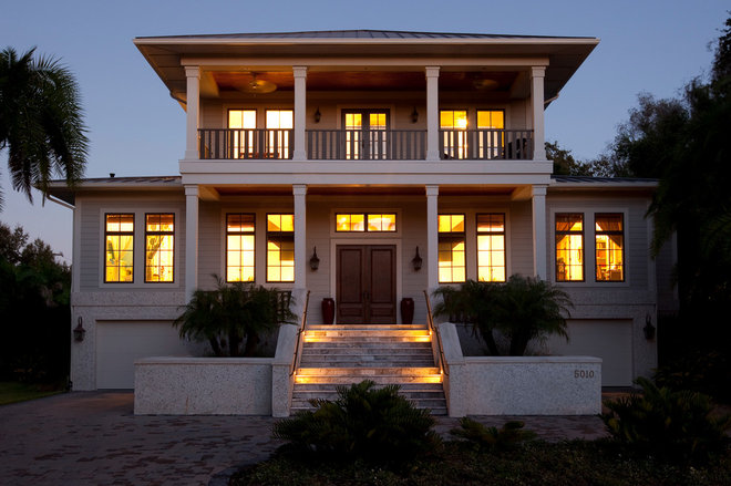 Beach Style Exterior by Classic Builders