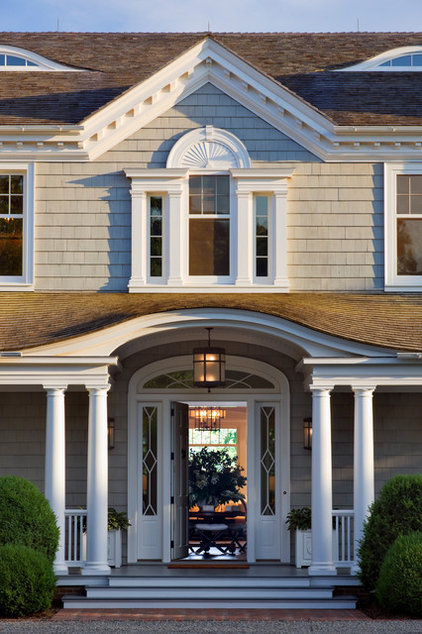 Traditional Exterior by Miller & Wright Architects