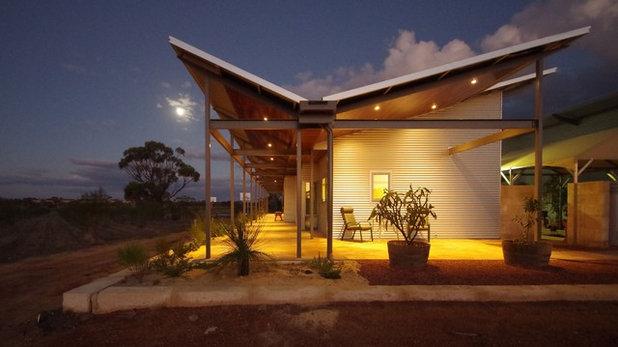 Farmhouse Exterior by Arcologic Design