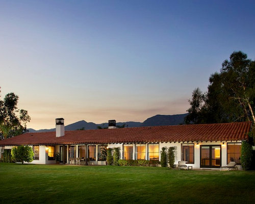 Spanish ranch houzz for California ranch style architecture