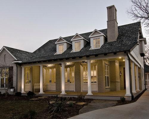 Mega Greige Exterior Home Design Ideas Pictures Remodel