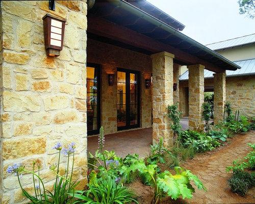 Mediterranean porches home design ideas photos for Mediterranean front porch designs