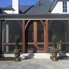 Traditional Exterior by Burke Coffey Architecture Design Inc.