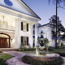 Traditional Exterior by JAUREGUI Architecture Interiors Construction