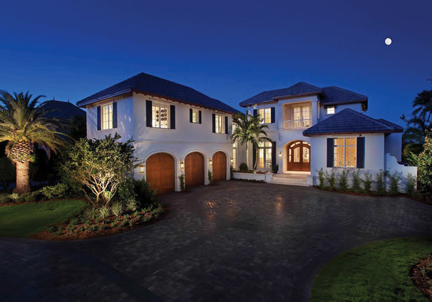 Tropical Exterior by Windover Construction
