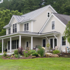 Traditional Exterior by Bluetime Collaborative