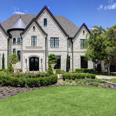 Mediterranean Exterior by Simmons Estate Homes