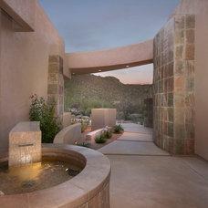 Mediterranean Exterior by Soloway Designs Inc | Architecture + Interiors
