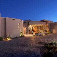 Mediterranean Exterior by Soloway Designs Inc.