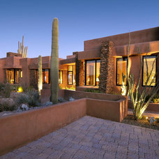 Southwestern Exterior by Soloway Designs Inc | Architecture + Interiors