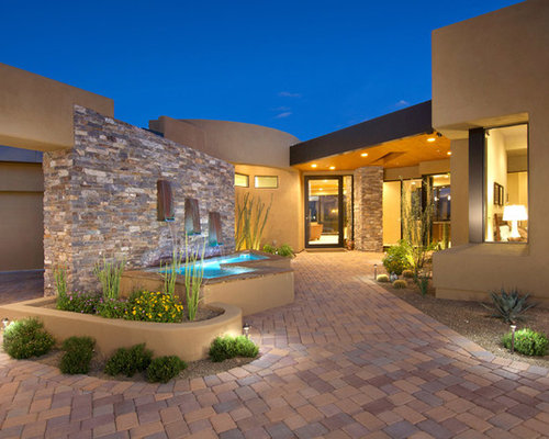 Best Southwestern Stucco Exterior Home Design Ideas Remodel Pictures Houzz