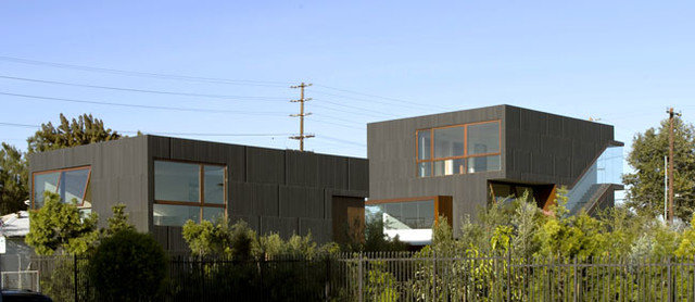 Contemporary Exterior by Studio 0.10 Architects