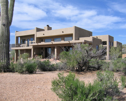 Best pueblo style design ideas remodel pictures houzz for Adobe style homes