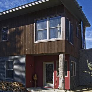 Contemporary Metal Exterior Home Idea In Burlington