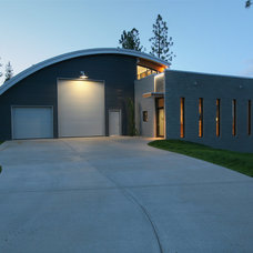 Contemporary Exterior by C N Contracting & Consulting Inc.