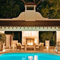 Mediterranean Exterior by Dan Waibel Designer Builder