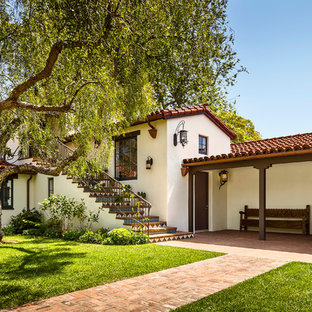 Spanish Colonial Revival Hacienda