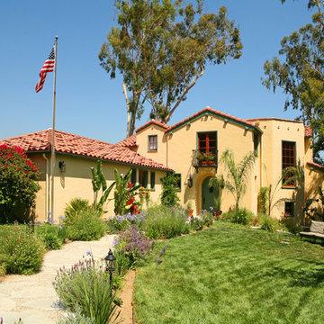 Spanish Colonial Revival in La Canada Flintridge CA