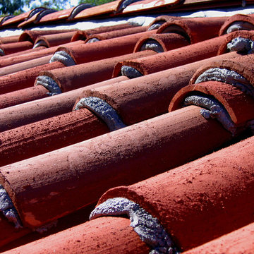 Spanish Colonial Revival Roof Details