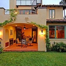 Mediterranean Exterior by Structure Home
