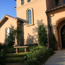 Mediterranean Exterior by John Lively & Associates