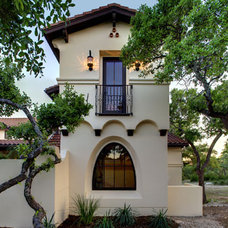 Mediterranean Exterior by Geschke Group Architecture