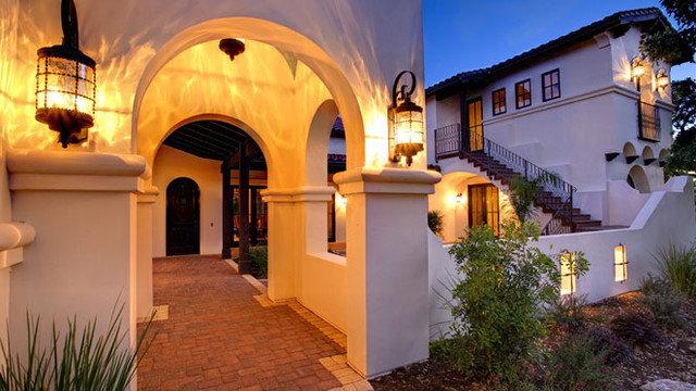 Mediterranean Exterior by Geschke Group Architecture