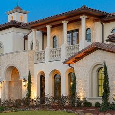 Mediterranean Exterior by Atrium Fine Homes