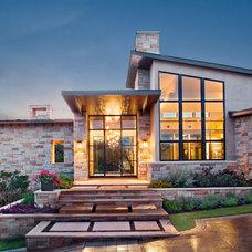Contemporary Exterior by Shoberg Custom Homes