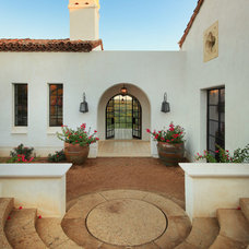 Mediterranean Exterior by Hugh Jefferson Randolph Architects